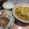 Tenrisutaminaramen - 料理写真:餃子セット(950円)