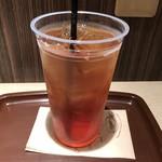 カフェミンク - アイスティーLLサイズ 400円(税込)