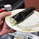 回転割烹 寿司御殿 - 本ワサビ巻き