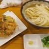 上を向いて - 料理写真:かけうどん+駿河湾産桜えびの野菜かき揚げ
