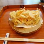 菊井 - 野菜かき揚げハーフ