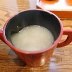 菊井 - そば湯