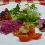 ロマンツァ - 前菜5種盛り