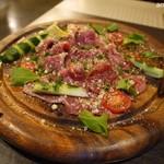 溶岩焼き×肉寿司 個室居酒屋 29house - 牛肉のパルメザンカルパッチョ