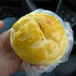 シロヤベーカリー - メロンパン70円