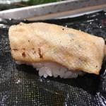 第三春美鮨 - 鮃 白皮 備長炭炙り