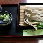 ふかぐら亭 - 料理写真:ござそば(720円)