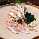 一品料理 ひとしな - 秋刀魚刺身