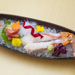 京会席 銀明翠 - 料理写真:蟹刺し