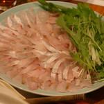 魚串 炙縁 - 高級魚 のどくろのしゃぶしゃぶ①