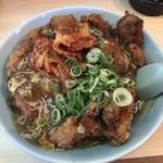 ポパイ - 唐揚げ丼