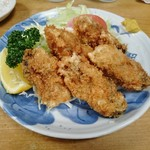 大衆割烹 三州屋 - 牡蠣フライ