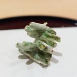 天ぷら 京星 - 料理写真:三度豆