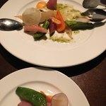 ヴェール パール ナオミ オオガキ - 根菜。お手伝いしないと入手できない、貴重なお野菜らしい。茨城産