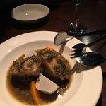 ヴェール パール ナオミ オオガキ - イサキと里芋と人参。個人的にはいちばん好き。