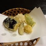 一升 - 天ぷら。