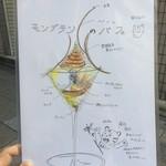 ジェラート専門店 SUGITORA - メニュー☆