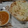 マンダラ - 料理写真:チーズナンセット(バターチキンカレー)¥730