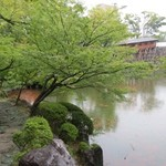 紅松庵 - 御橋廊下の入口方向でもあるっぽい