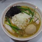 コマツ中華蕎麦店 - 濃厚煮干しそば+味玉