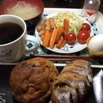 コアンドル - モーニング風にして晩御飯に^_^)