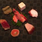 陽明殿 - シンプルな前菜