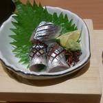 玉乃光酒蔵 梅田店 - さんまづくしの刺身