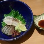 玉乃光酒蔵 梅田店 - しめサバ