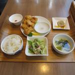 小肥羊 - 鶏むね肉の唐揚げ ~特製塩添え~