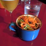バル デ エスパーニャ セロ - ランチのサラダ