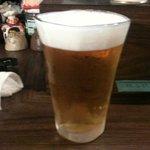 豚子新地 - ビール 500円