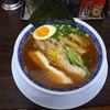 丸直 - 料理写真:魚介醤油+味玉(ハーフ)