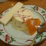 75520257 - 柑橘類のババロア。