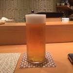 鮨 土方 - 生ビール