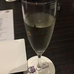 Steak&Italian Griante - 乾杯スパークリングワイン