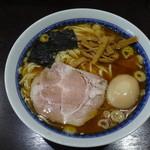 中華そば べんてん - ラーメン(並)+味付玉子