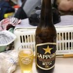 かんむりや - 瓶ビール大(450円)