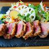 dish 5 - 料理写真:牛カツランチ