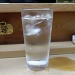 家庭料理 小川 - 芋焼酎水割り