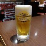 あかまつ - 生ビール