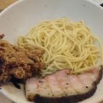 丹行味素 - 2017年10月 具沢山和風カレーつけ麺(がっつり) 990円
