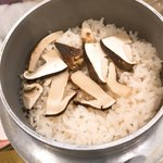 喜助 - 松茸釜飯