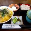 一舟庵 - 料理写真:ミニカツ丼セット1100円