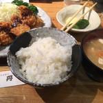 75529947 - ヒレカツとカキフライ定食