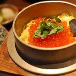 贔屓屋 かくれんぼ - 料理写真:いくら釜飯