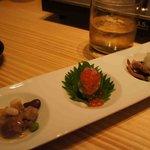 北海道市場 ICHIBA - 前菜3種盛り