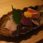 北海道市場 ICHIBA - 新鮮な刺身が〜