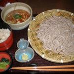 そじ坊 - わさび味噌 せいろ蕎麦定食