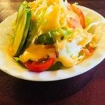 シカール - セットのサラダ