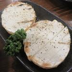 村崎炊鶏研究所 - 山芋焼き。